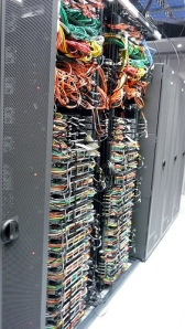 Some racks in data center.